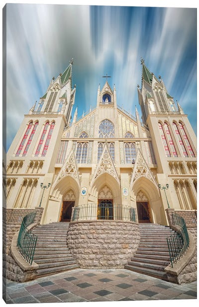 Cathedral Canvas Art Print