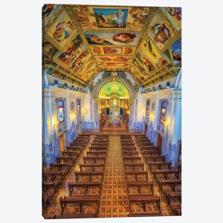 Interior Of The Church Canvas Print #GLM467} by Glauco Meneghelli Canvas Artwork