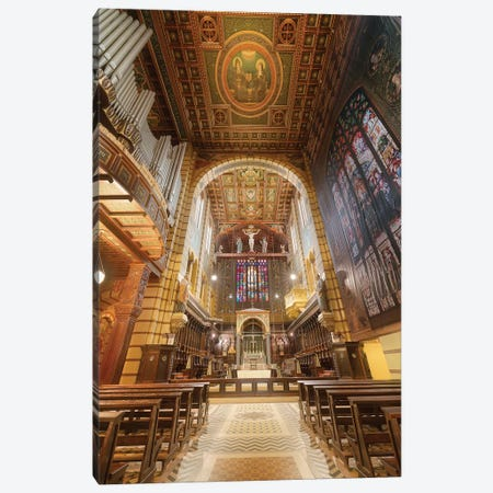 Inteinterior Of The Cathedral III Canvas Print #GLM468} by Glauco Meneghelli Canvas Print