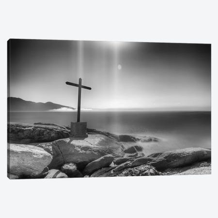 Cross On The Rocks Canvas Print #GLM473} by Glauco Meneghelli Canvas Art