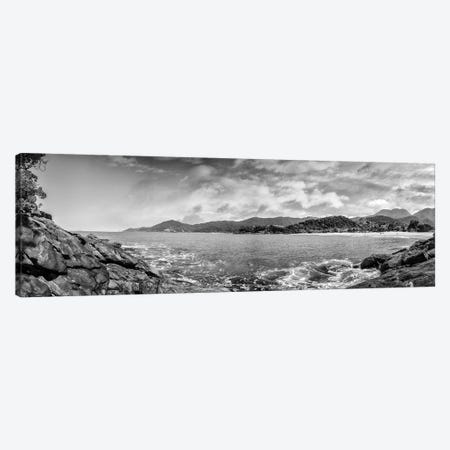 Beach Pano Canvas Print #GLM480} by Glauco Meneghelli Art Print