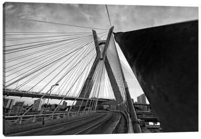 Sao Paulo Bridge IV Canvas Art Print