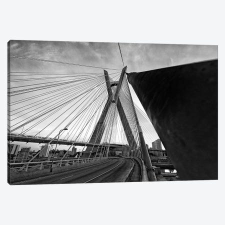 Sao Paulo Bridge IV Canvas Print #GLM530} by Glauco Meneghelli Canvas Art Print