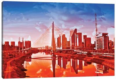 Sao Paulo Bridge V Canvas Art Print