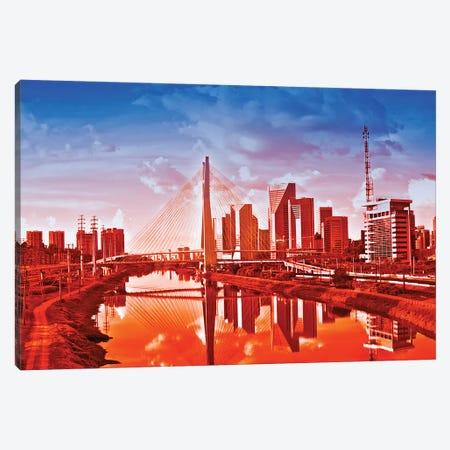 Sao Paulo Bridge V Canvas Print #GLM531} by Glauco Meneghelli Art Print