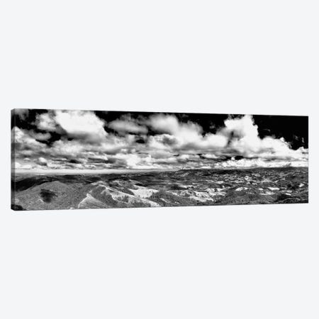Landscape Black And White Panorama Canvas Print #GLM541} by Glauco Meneghelli Canvas Artwork