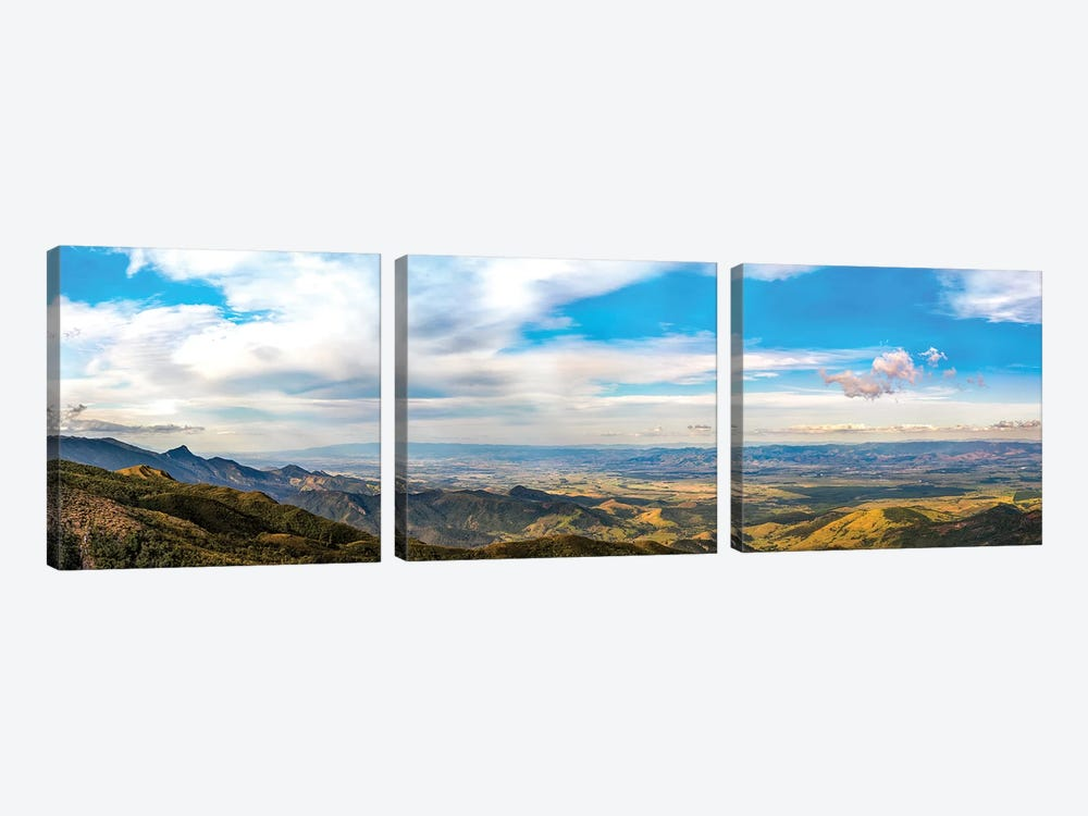 Cloudscape Big Panorama II by Glauco Meneghelli 3-piece Canvas Artwork