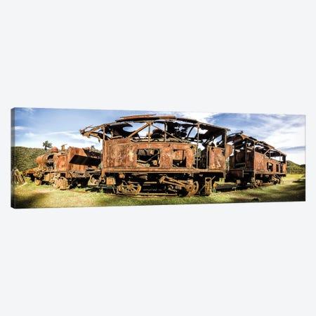 Rusty Train Canvas Print #GLM548} by Glauco Meneghelli Canvas Wall Art