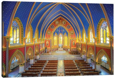 Basilica Of Our Lady Of The Rosary, Caieiras Canvas Art Print