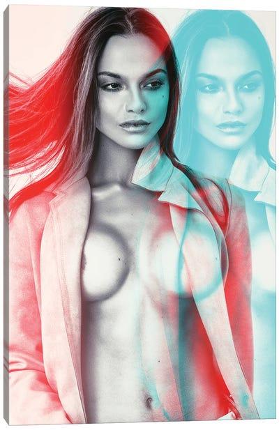 Superimposed Future I Canvas Art Print
