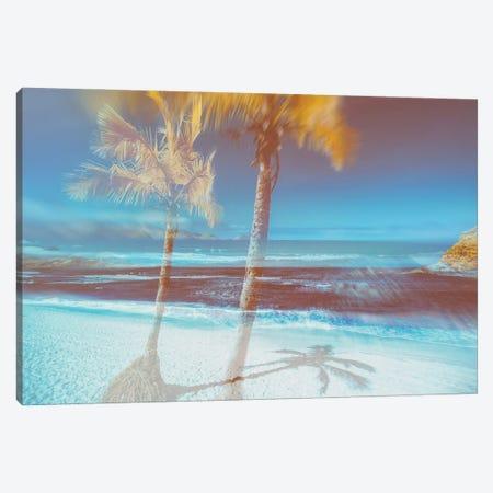 Enchanting Beach Canvas Print #GLM646} by Glauco Meneghelli Canvas Artwork