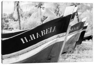 Ilha Bela BW Canvas Art Print