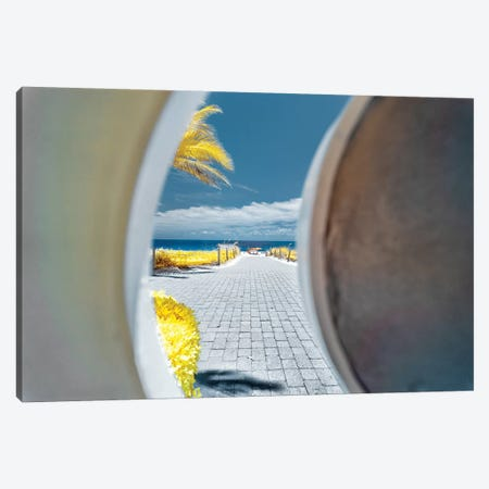 Beach View - Miami, Florida Canvas Print #GLM8} by Glauco Meneghelli Canvas Print