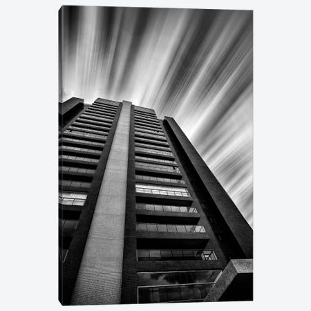 Long Exposure Bulding #1 - Sao Paulo, Brazil 3-Piece Canvas #GLM99} by Glauco Meneghelli Canvas Print