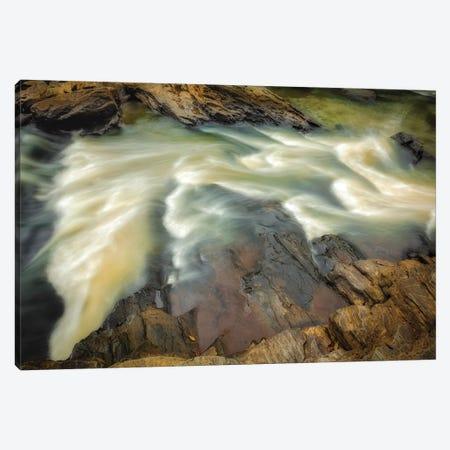 Rushing Canvas Print #GLT12} by Glenn Taylor Canvas Artwork