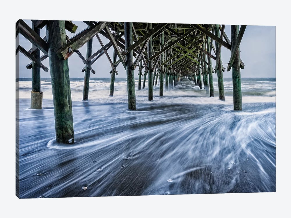 The Rushing Tide III by Glenn Taylor 1-piece Canvas Print