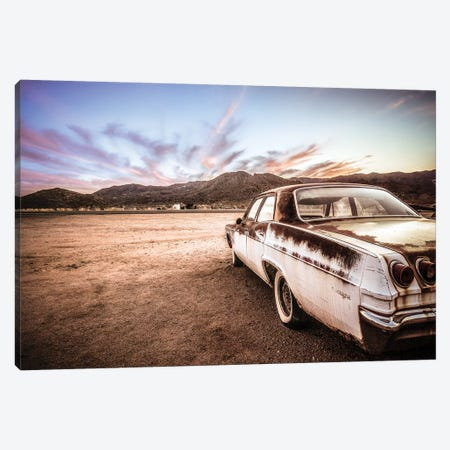 Abandoned Car Canvas Print #GLT1} by Glenn Taylor Canvas Art Print