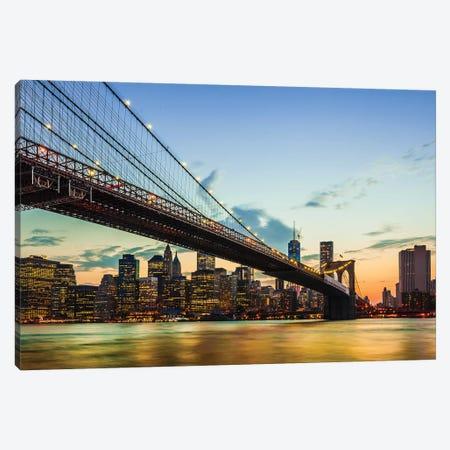 Bridge I Canvas Print #GLT3} by Glenn Taylor Art Print