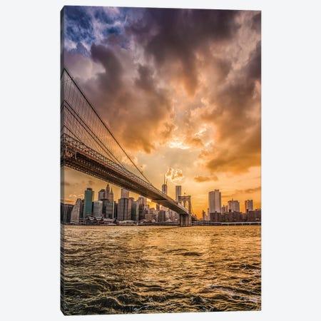Bridge II Canvas Print #GLT4} by Glenn Taylor Canvas Wall Art