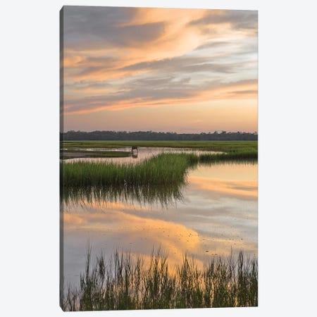 Marsh Beauty Canvas Print #GLT7} by Glenn Taylor Canvas Wall Art