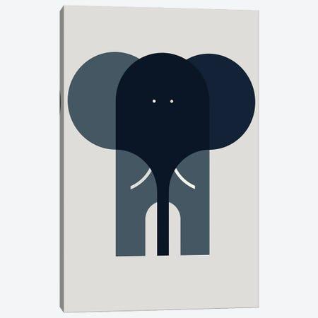 Elephant Canvas Print #GMA100} by Greg Mably Canvas Artwork