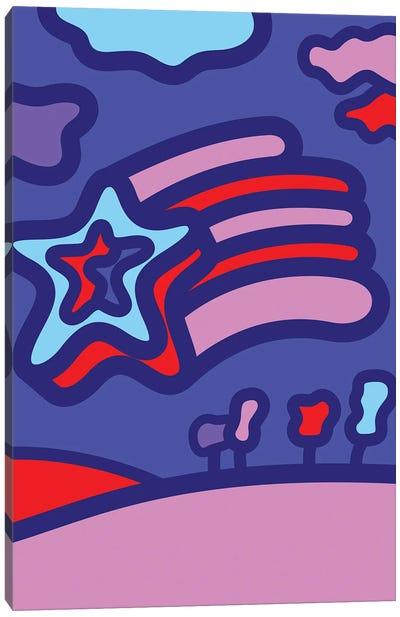 Shooting Star Canvas Art Print