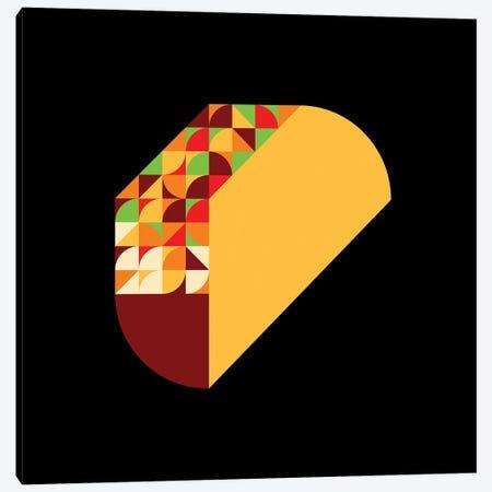 Taco Canvas Print #GMA109} by Greg Mably Canvas Wall Art