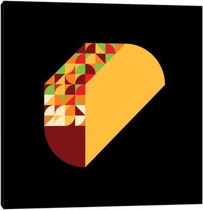 Taco Canvas Art Print
