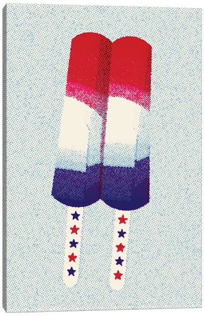 Patriot Pop Canvas Art Print