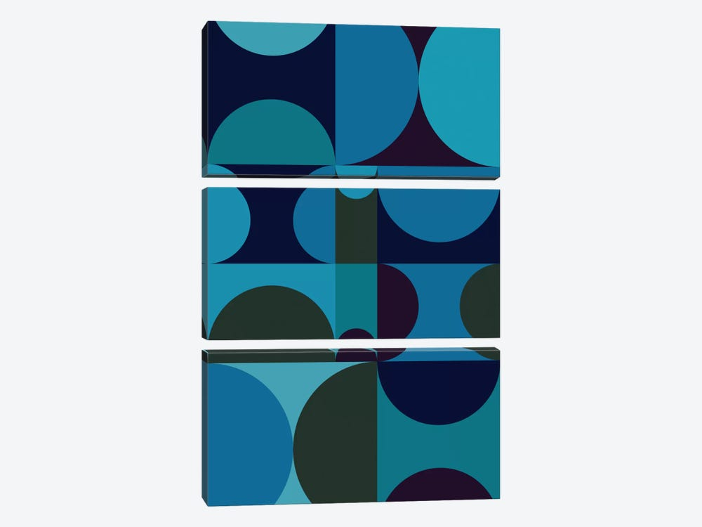 Radia II by Greg Mably 3-piece Canvas Wall Art
