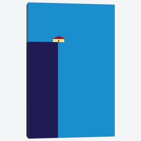 Cliff Canvas Print #GMA19} by Greg Mably Canvas Art