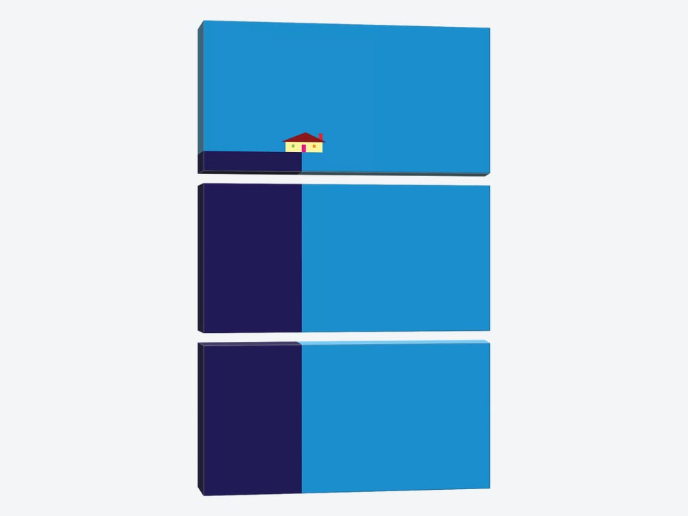 Cliff by Greg Mably 3-piece Canvas Print