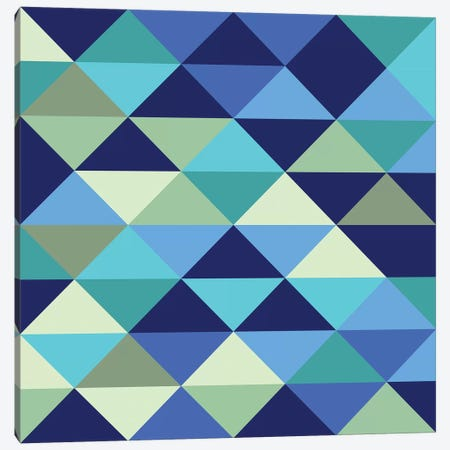 Crystal I (Ocean) Canvas Print #GMA23} by Greg Mably Canvas Print