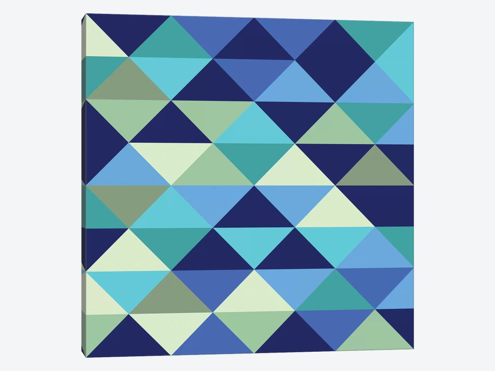 Crystal I (Ocean) by Greg Mably 1-piece Canvas Artwork