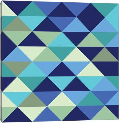 Crystal I (Ocean) Canvas Art Print