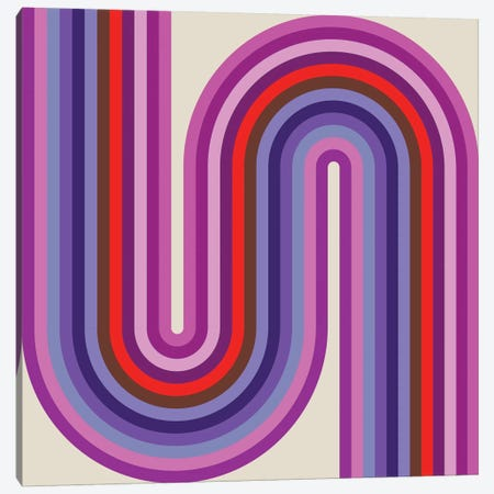 Flow Candy I Canvas Print #GMA24} by Greg Mably Canvas Artwork