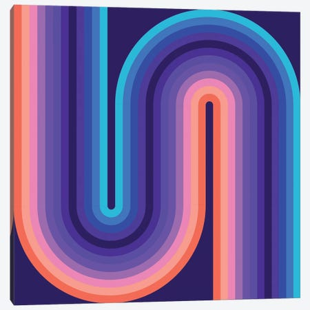 Flow Cool I Canvas Print #GMA27} by Greg Mably Canvas Artwork