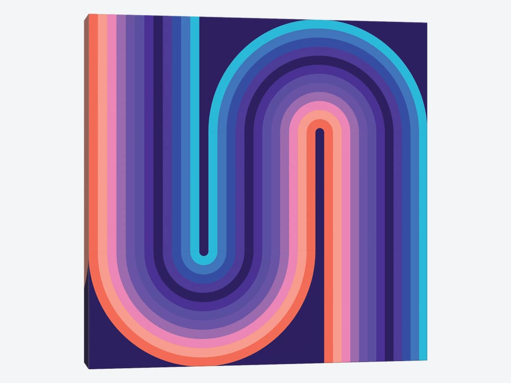 Flow Cool I by Greg Mably 1-piece Canvas Wall Art