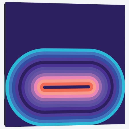 Flow Cool II Canvas Print #GMA28} by Greg Mably Canvas Art Print