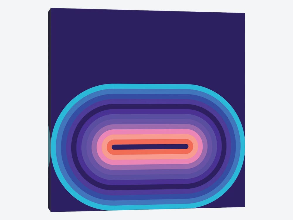 Flow Cool II by Greg Mably 1-piece Canvas Art Print