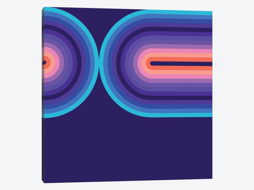 Flow Cool III by Greg Mably 1-piece Canvas Art