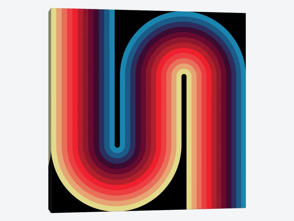 Flow Dark I by Greg Mably 1-piece Canvas Artwork