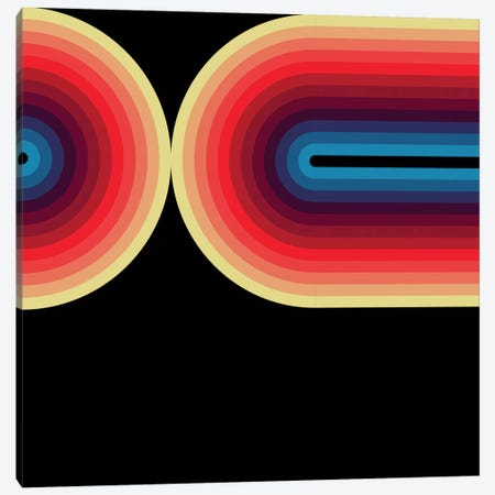 Flow Dark III Canvas Print #GMA32} by Greg Mably Canvas Art