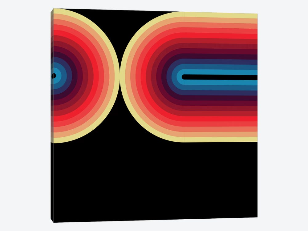 Flow Dark III by Greg Mably 1-piece Canvas Artwork