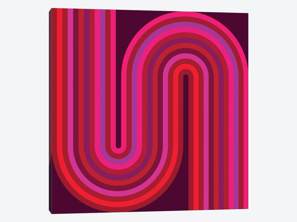 Flow Hot I by Greg Mably 1-piece Canvas Print