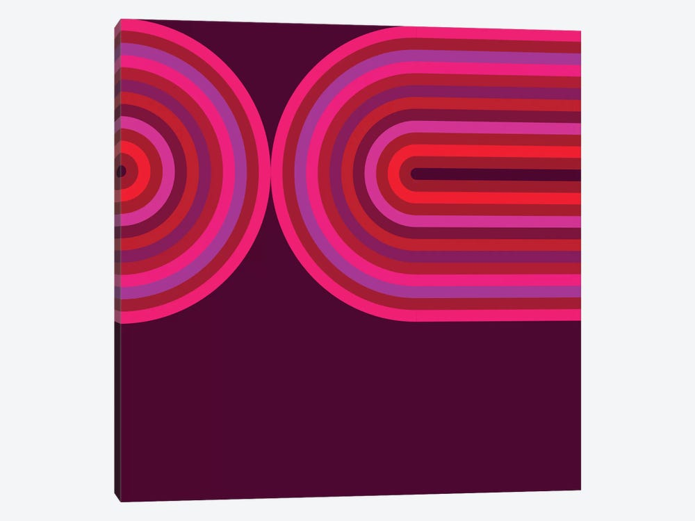 Flow Hot III by Greg Mably 1-piece Canvas Print