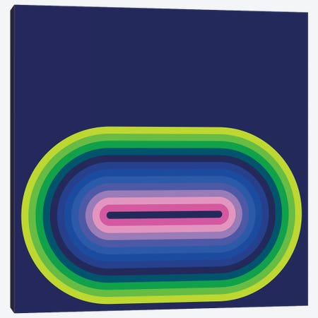 Flow Neon II Canvas Print #GMA40} by Greg Mably Canvas Art Print