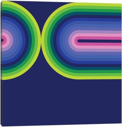 Flow Neon III Canvas Art Print