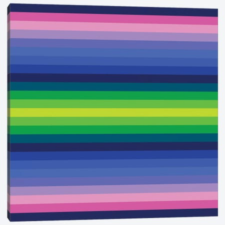 Flow Neon IV Canvas Print #GMA42} by Greg Mably Art Print