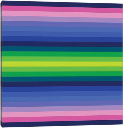 Flow Neon IV Canvas Art Print